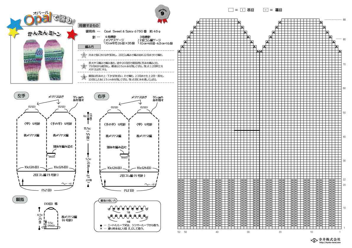 かぎ針編み物で帽子を作ろう!無料編み図紹介中    …
